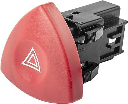 Interrupteur Bouton Warning pour Renault Espace IV Laguna II Trafic 8200442724