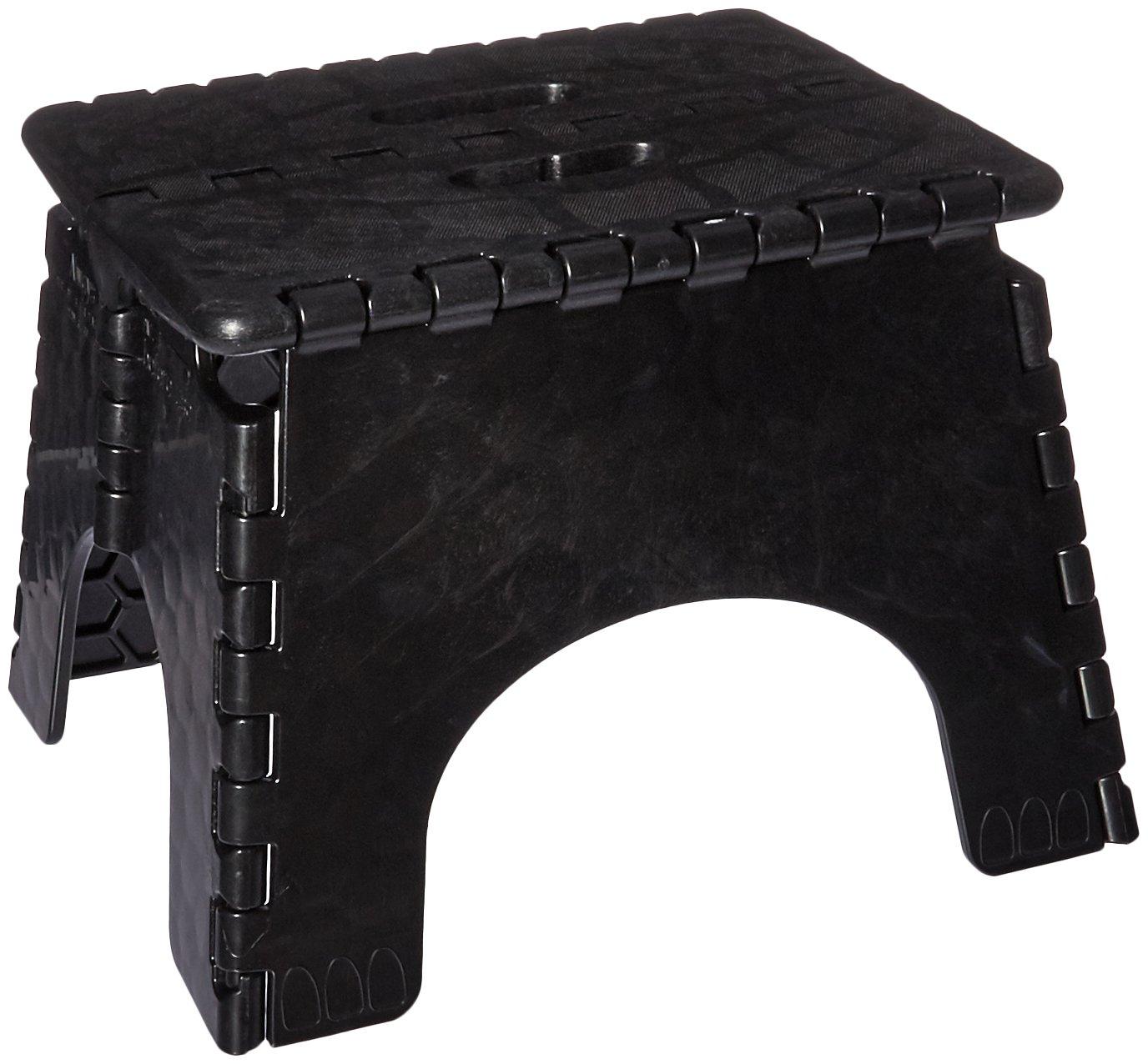 B Amp R Plastics 1016bk Black Ez Foldz Hardware Shop Stools