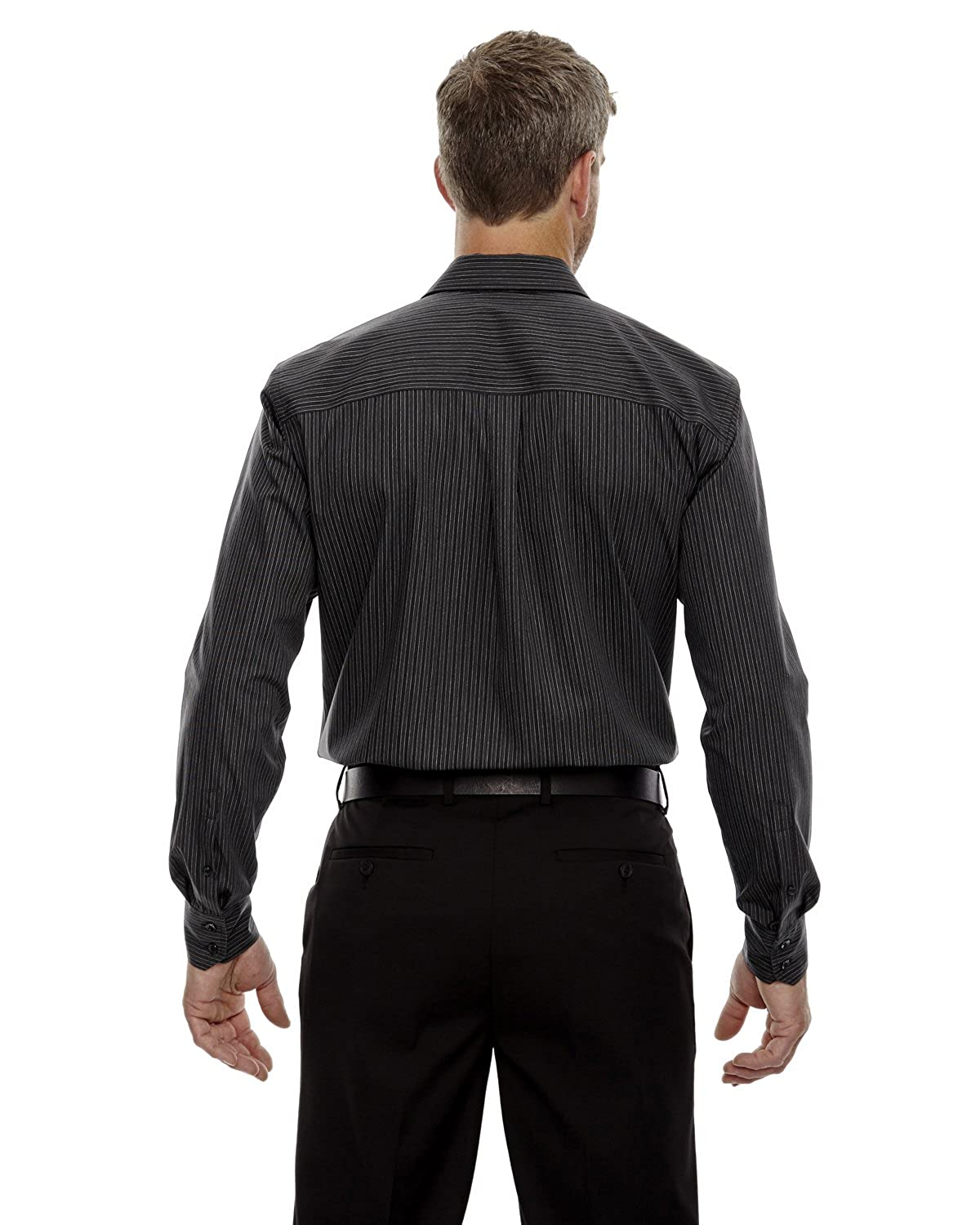 A Product of Ash City North End Mens Boardwalk Wrinkle-Free Two-Ply 80s Cotton