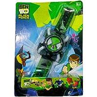 Bokey Ben 10 Align Force Omnitrix Projector Watch Includes 2 Disks