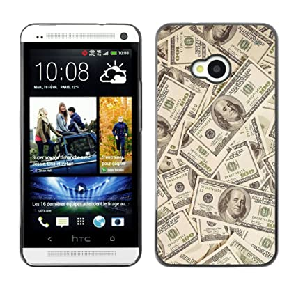 KOKO CASE HTC One M7 Money Dollar Wallpaper Wealth Symbol Usa Slim Black