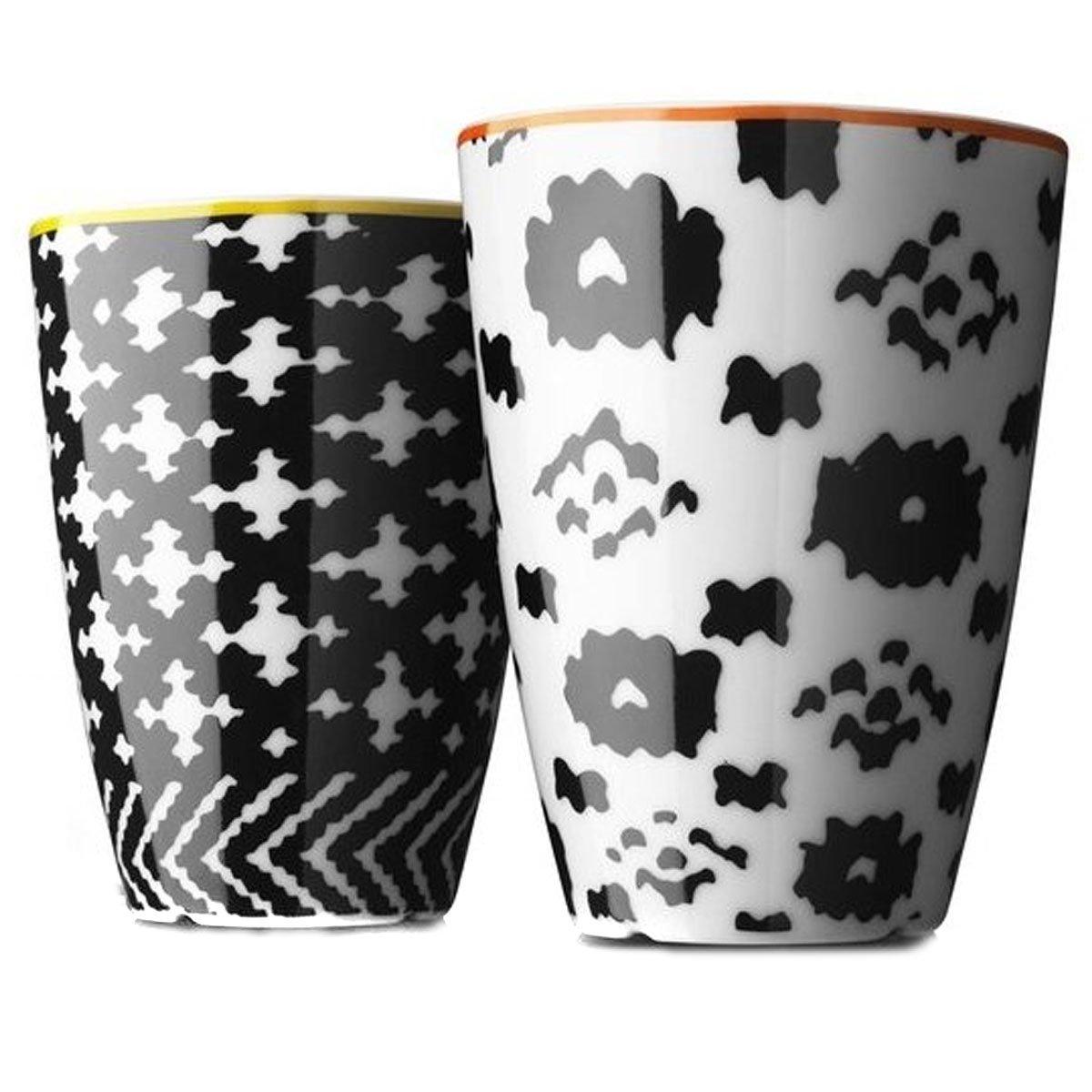Menu Nordic Wool 2-Piece Thermo Cup, Medium, Orange/Yellow