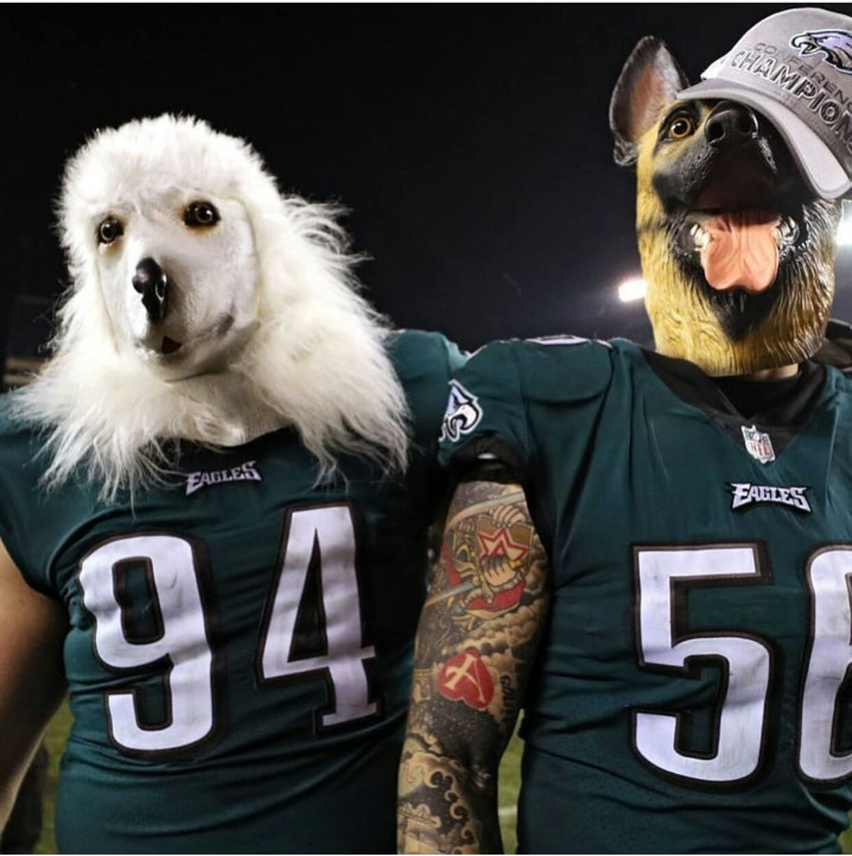 Máscara de cabeza de látex animal de perro pastor alemán Lubber para disfraz de | eBay