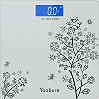 Weight Scale, Precision Digital Body Bathroom Scale with Step-On Technology, 6mm Tempered Glass Easy Read Backlit LCD…