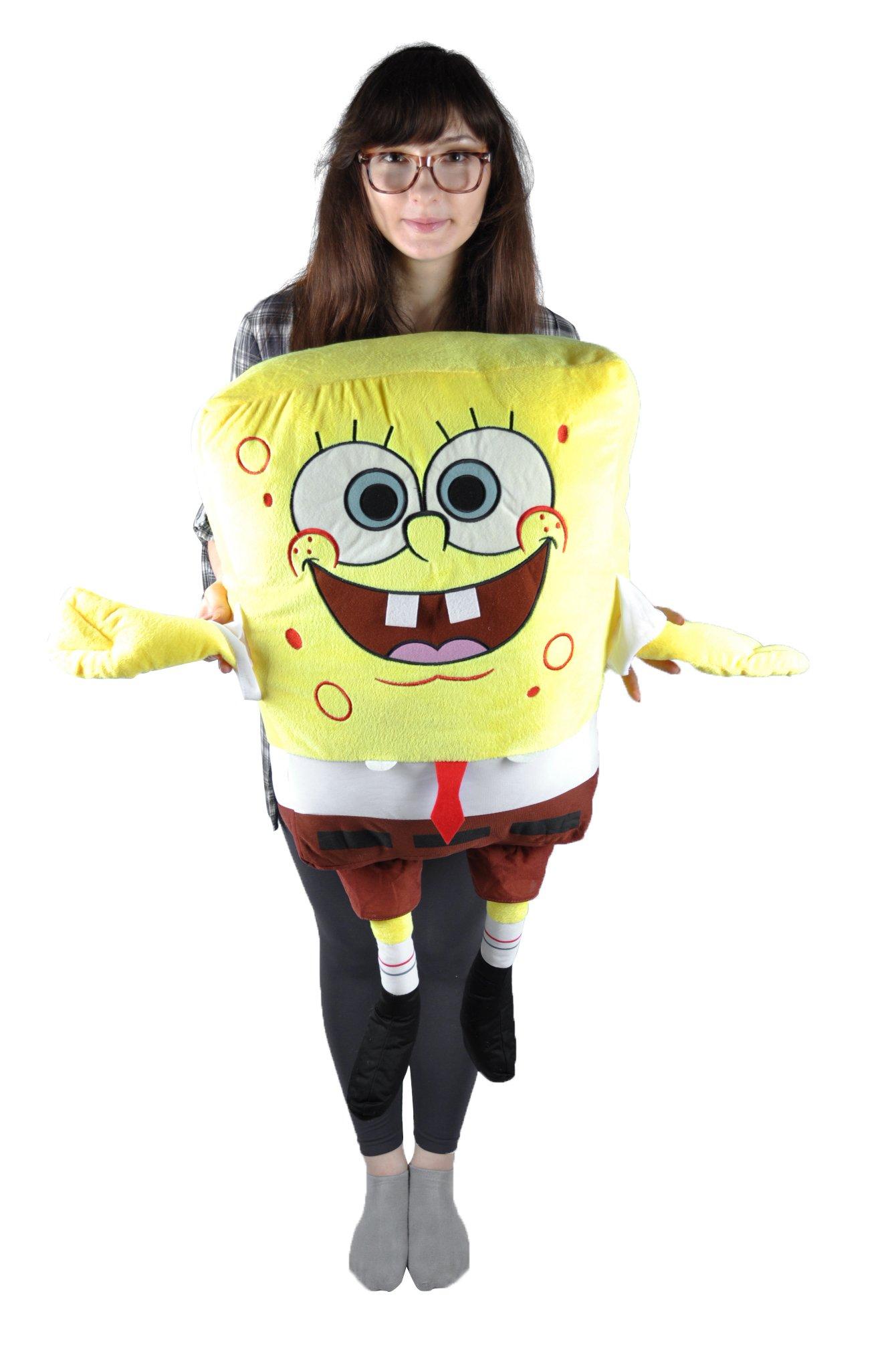 Large Size Super Giant 39 Inch /100cm Spongebob Plush Stuffed Soft Toy Fluffy Pillow and Cushion by SpongeBob SquarePants