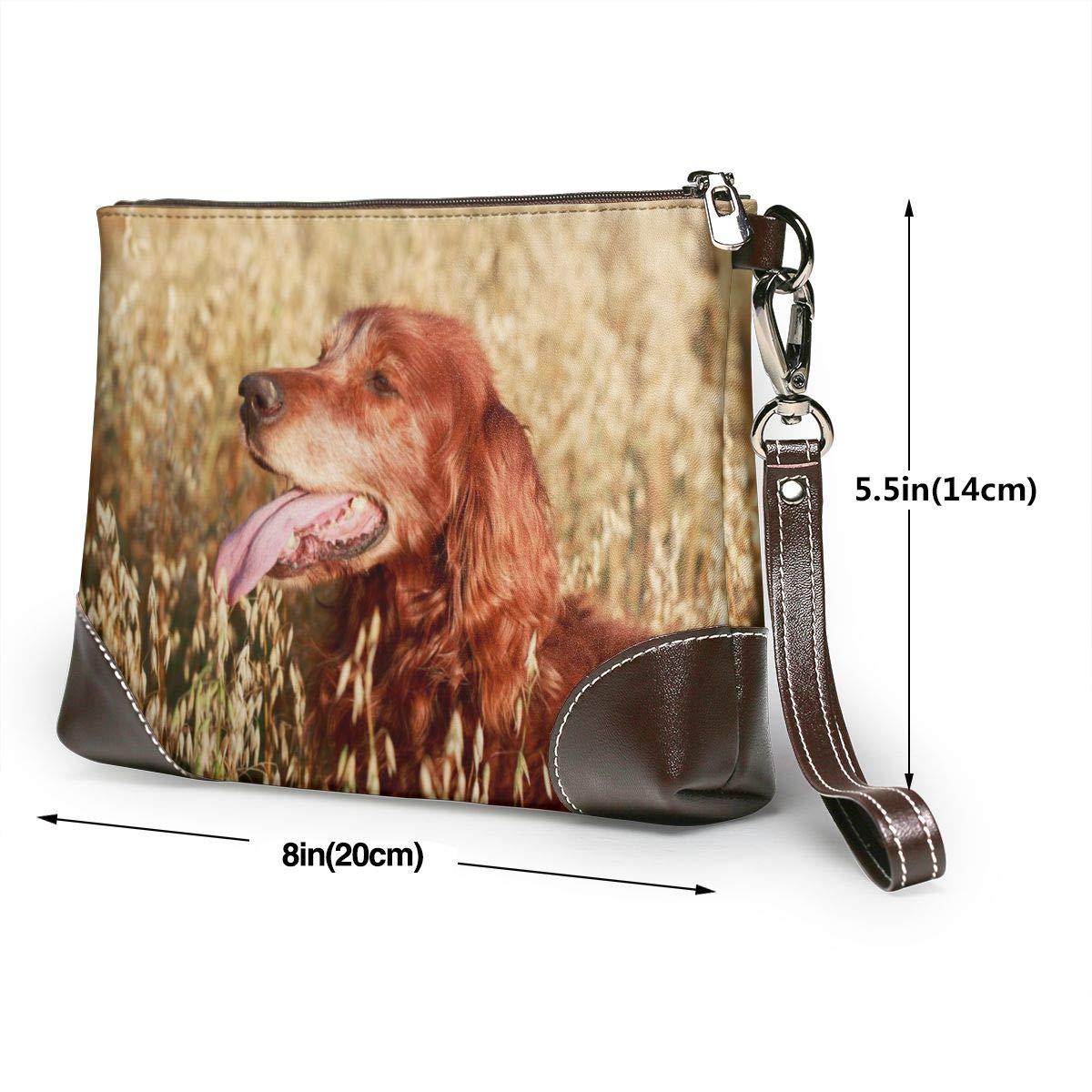 Retro orientalisk flicka husdjur hund säng matta mjuk halkfri lyxig kennel dyna finns i flera stilar storlekar Red Irish Setter