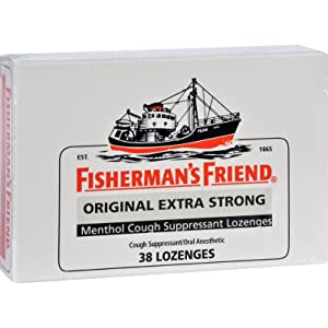 2Pack! Fisherman's Friend Lozenges - Original Extra Strong - Dsp - 38 ct - 1 Case
