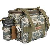 Yogayet Fishing Tackle Bag, YKK Zipper Tackle Storage Bag Portable Outdoor Multifunctional Lure Waist Fanny Pack Water…