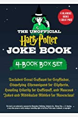 The Unofficial Harry Potter Joke Book 4-Book Box Set: Includes Great Guffaws for Gryffindor, Stupefying Shenanigans for Slytherin, Howling Hilarity for ... Jokes and Riddikulus Riddles for Ravenclaw! Kindle Edition