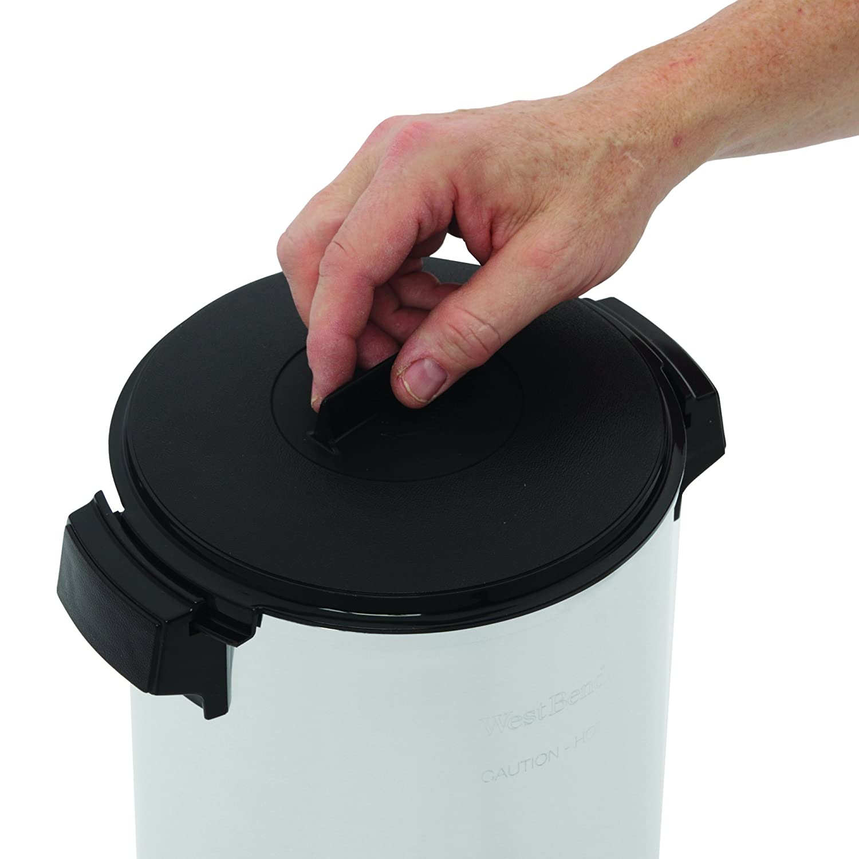 West Bend 58030 12 30 Automatic Party Perk Coffee Urn Locklock Twisst 360ml Lls121 Electric Percolators Teapots Servers