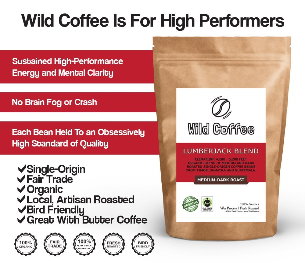 Cafetera silvestre, café orgánico completo, comercio justo ...