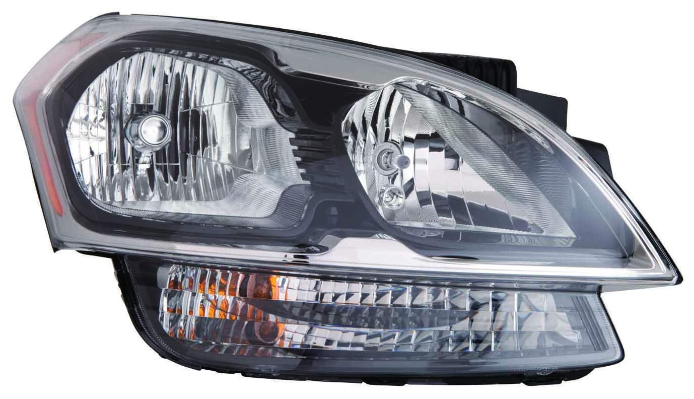 2011 Ford MUSTANG Post mount spotlight Driver side WITH install kit 100W Halogen 6 inch -Black