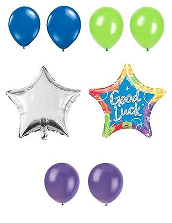 Amazon.com: Purple Ninja Party Supplies Good Luck Multi ...