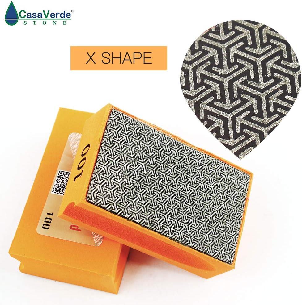 XEHPP200 Grit 200# Electroplated Diamond Hand Polishing Pads