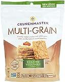 Crunchmaster Roasted Vegetable Multi Grain Cracker, 4.5 Ounce -- 12 per case.