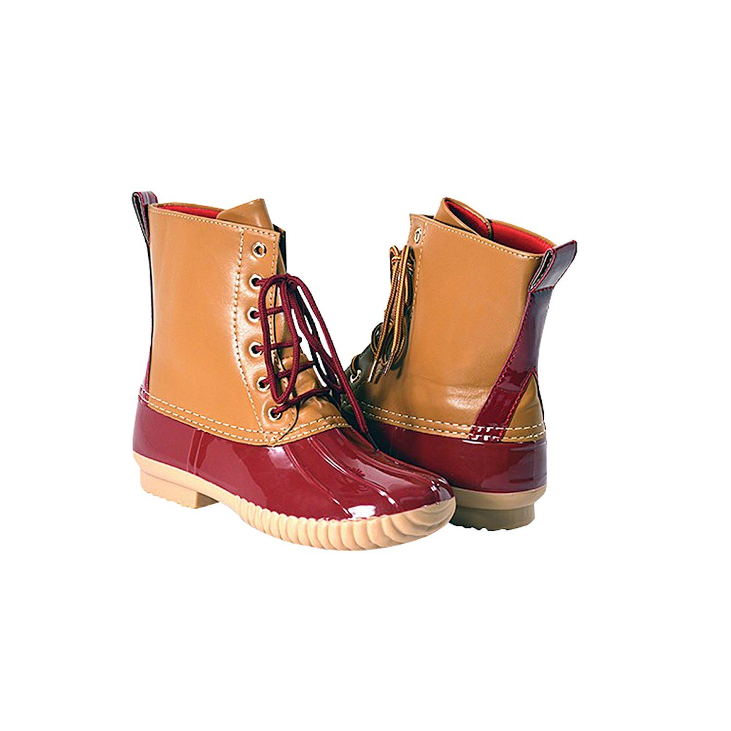 Avanti Women's Rosetta Duck Boots - Waterproof - Size 9 - Red