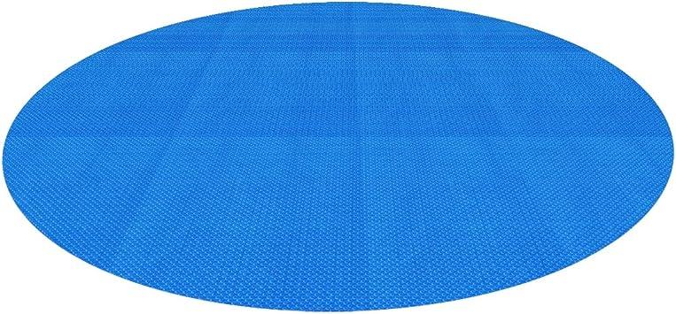 PJA Runde Solarfolie Poolheizung Solarplane blau 400/µ 3,6 Meter Durchmesser