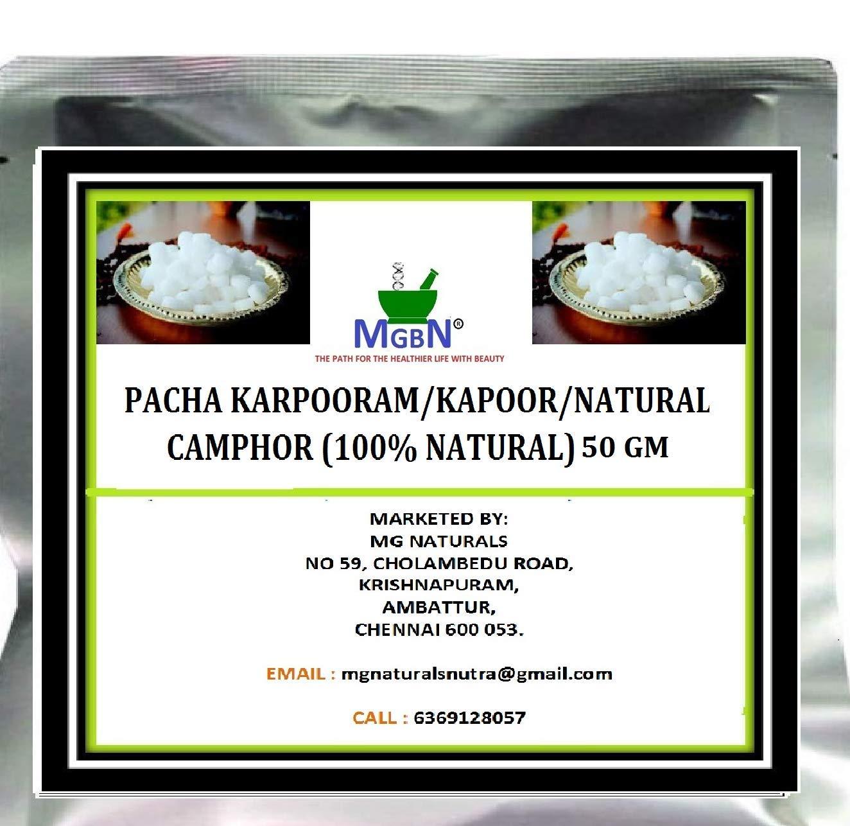 Pacha Karpooram Kapoor Natural Camphor 100 Natural 50 Gm Amazon In Beauty