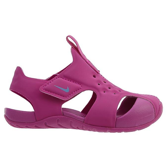 buy popular b3b5c 1af8c Nike Jungen Sunray Protect (PS) Zehentrenner, Schwarz: NIKE: Amazon.de:  Schuhe & Handtaschen
