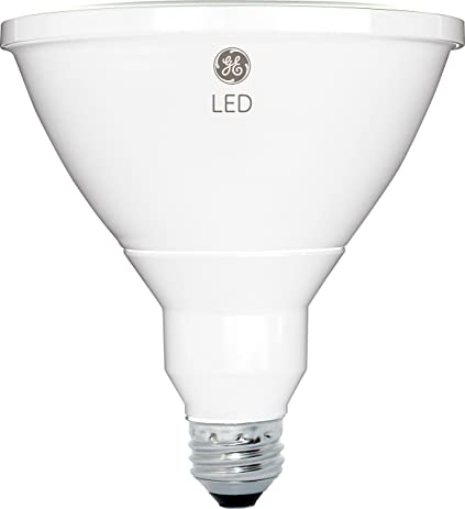 GE Lighting 13191 Dimmable LED PAR38 Outdoor Light Bulb With Medium Base,  7 Watt