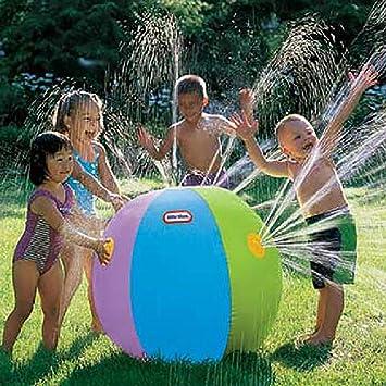 Hstv Patio De Juegos Inflable Agua Jet Ball Juego Al Aire Libre