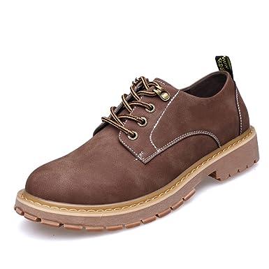 Herbst Herrenschuhe England Herren Freizeitschuhe Peeling Schuhe Logging  Schuhe Dicker Boden Schuhe Schuhe  Amazon.de  Bekleidung a47c4499f2