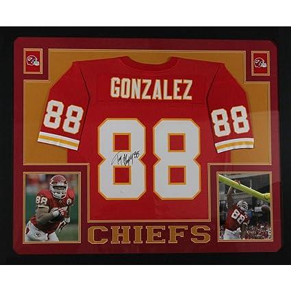 more photos 1365c 64b17 Tony Gonzalez Autographed Kansas City Chiefs Signed Mitchell ...