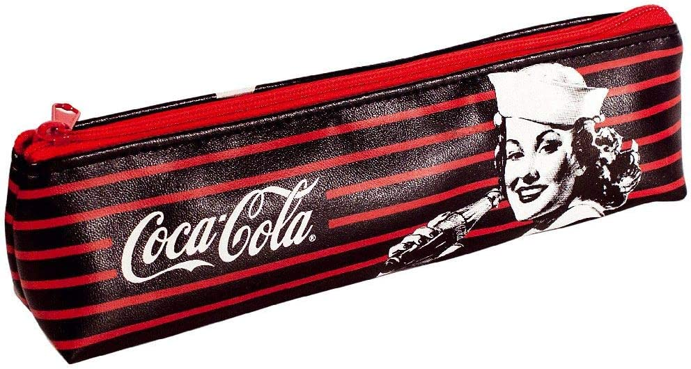 Coca-Cola estuche para lápices con cierre: Amazon.es: Oficina y papelería