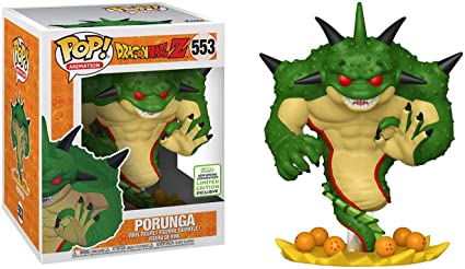 "2019 ECCC Dragon Ball Z Porunga 6/"" Super Sized Pop Vinyl Figure"