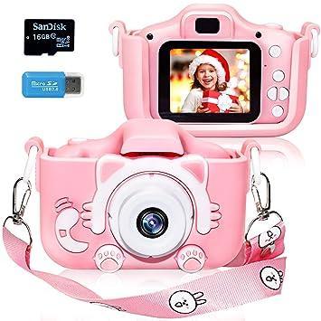 Amazon.com: Turtleshop - Cámara digital para niños con ...