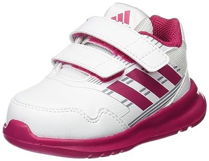 adidas - Altarun CF, Zapatillas Bebé-Niñas, Blanco (Footwear White/Bold