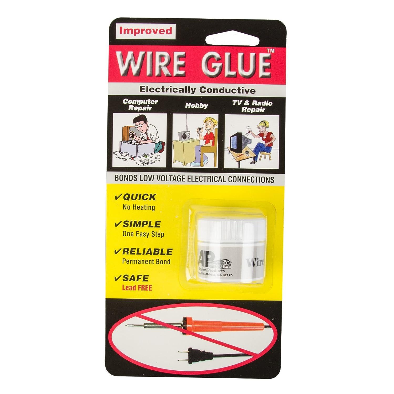 Pegamento conductor de alambre/PINTURA - sin soldador: Amazon.es: Bricolaje y herramientas