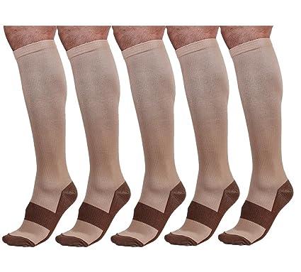 c6b88fff6a Bcurb Graduated Compression Socks Women and Men - Best Medical, Nursing,  Running, Fitness