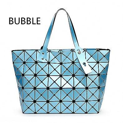 BAOBAO Women Pearl Bag Diamond Lattice Tote Geometry Quiltied Handbag Bao  Bao Woman Geometric Shoulder Bag 8af53e75ab376