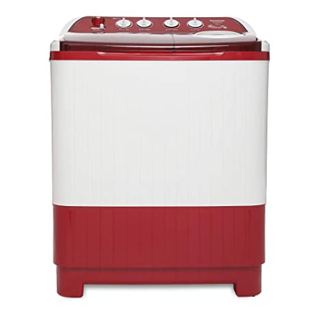 Panasonic 8.5kg Semi-Automatic Top Loading Washing Machine (NA-W85G4RRB, Red)