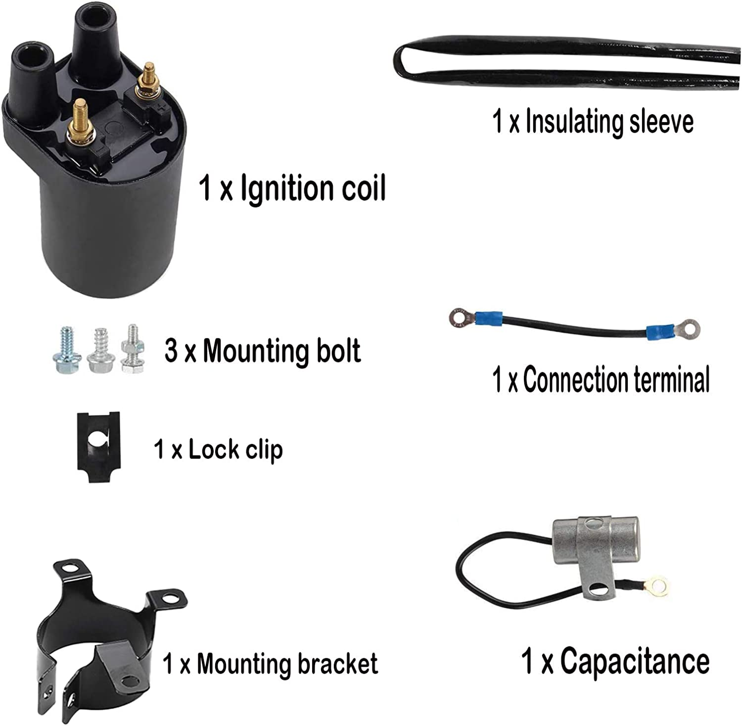 166-0804 Coil 166-0820 Coil 166-0772 Ignition Coil Replaces 166 ...