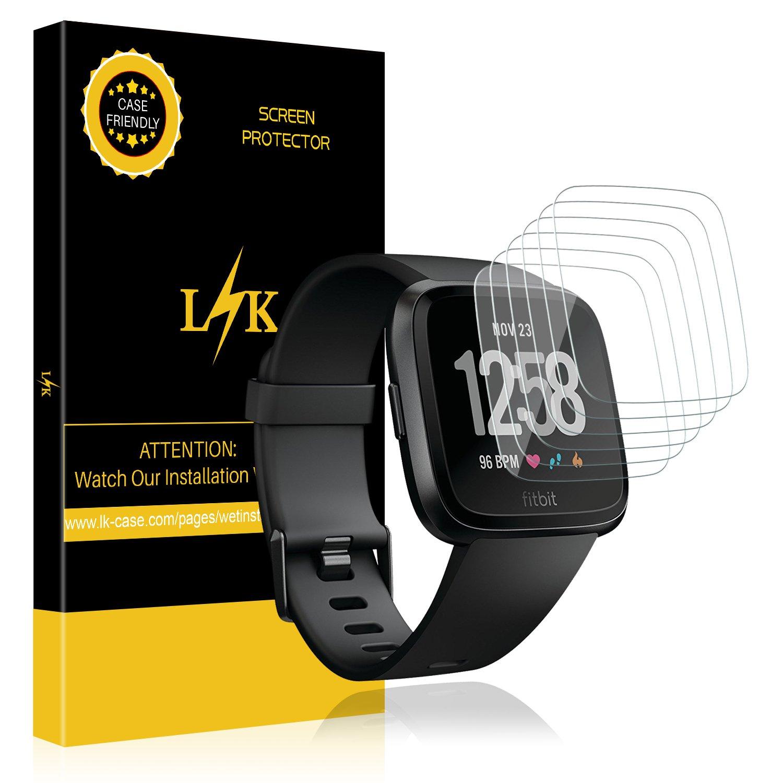 Vidrio Protector Para Fitbit Versa / Versa Lite [6 Pack]