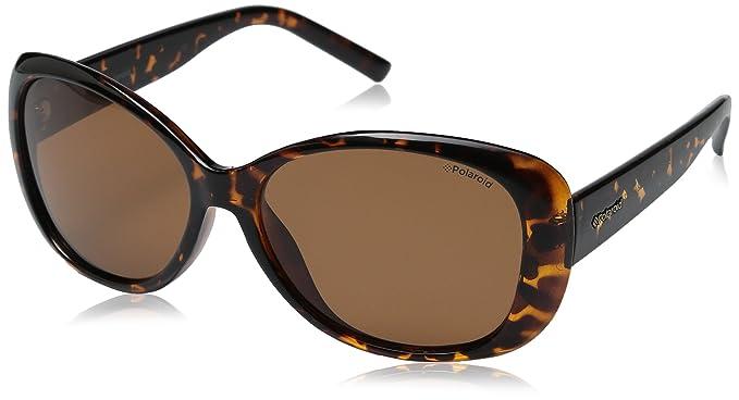 Polaroid Damen Sonnenbrille » PLD 4014/S«, braun, V08/HE - braun/braun