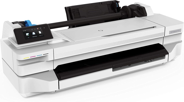 Amazon.com: HP Designjet T125 Impresora de 24 pulgadas ...