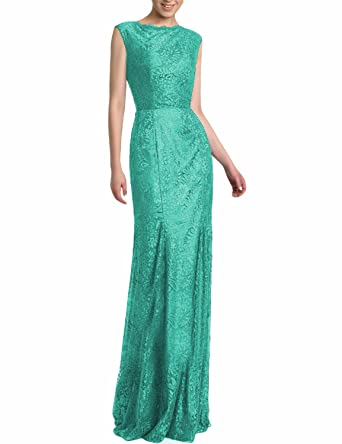 LL Bridal Womens Lace Prom Dresses 2018 Long Mermaid Formal Evening Party Gown LLP151 at Amazon Womens Clothing store: