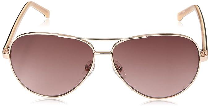 e9fecd4082 LACOSTE Sunglasses L155S 714 Gold 58MM  Amazon.co.uk  Clothing