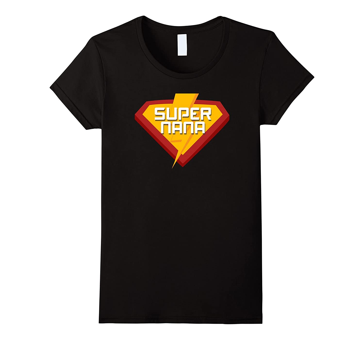 Super hero SUPER NANA T Shirt for Men Women Funny Costume-Teevkd