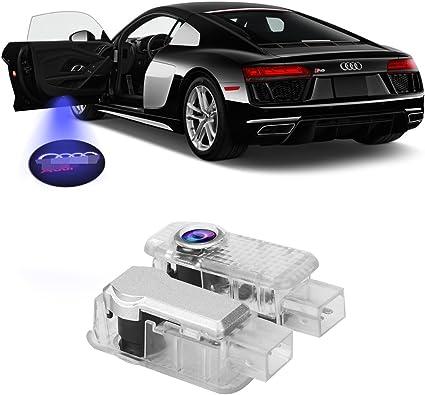 FlexDin 2 piezas de LED proyector puerta logotipo de la sombra de ...