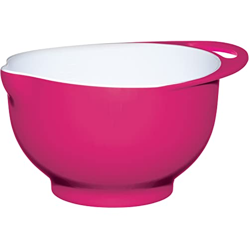 Colourworks Hot Pink Melamine Mixing Bowl