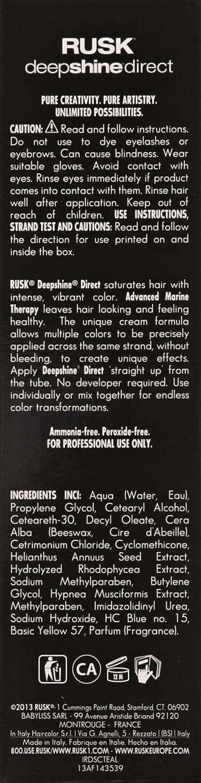 Buy Rusk Deepshine Direct Color Teal 34 Fl Oz 100ml Teal Online