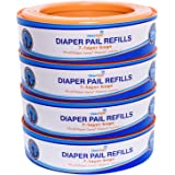 ChoiceRefill Compatible with Diaper Genie Pails, 4-Pack, 1080 Count