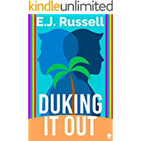 Duking It Out: A M/M Superhero Romance (Royal Powers Book 1) book cover