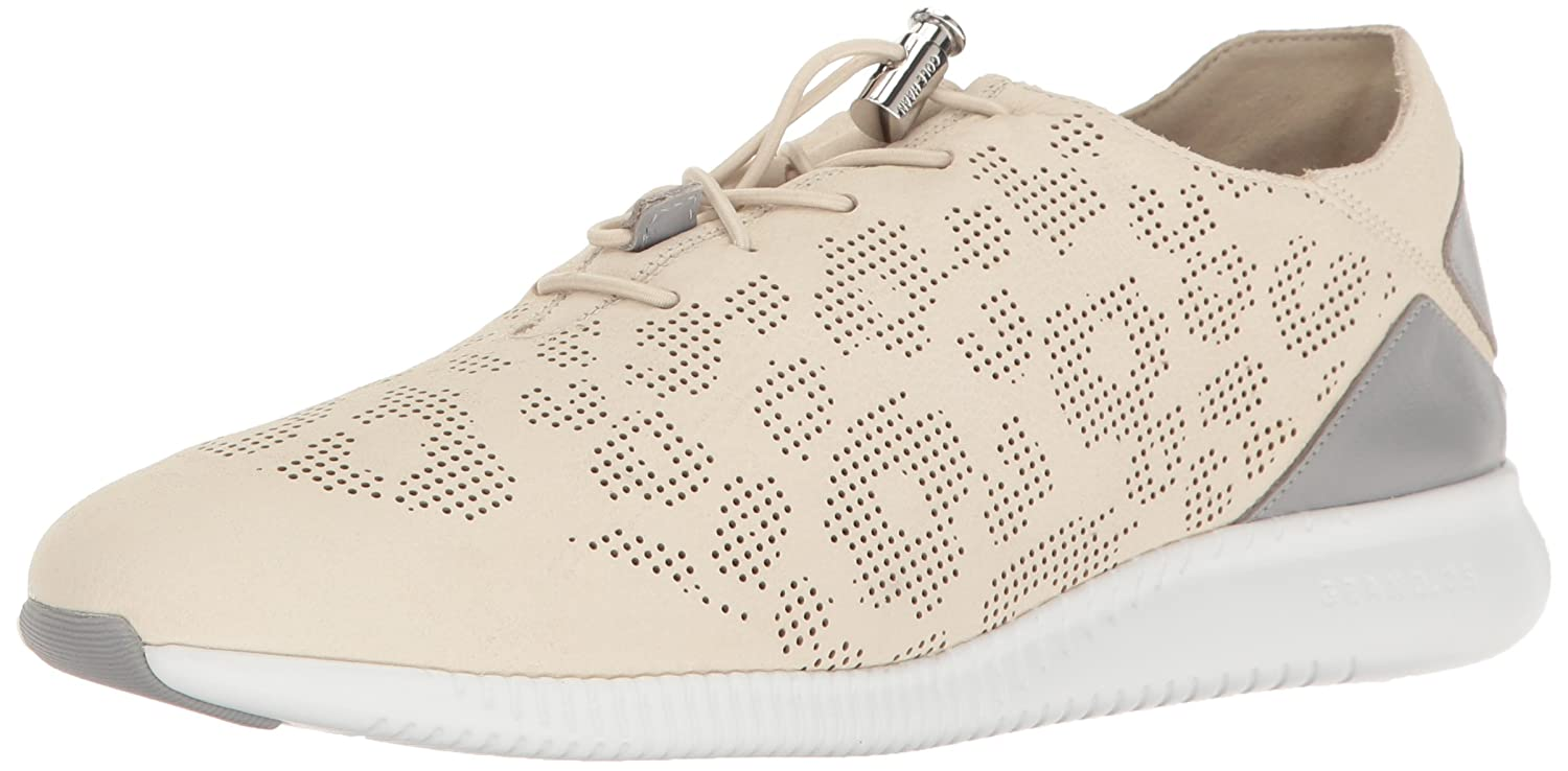 Cole Haan Women's Studiogrand P&g Trainer Fashion Sneaker B01MCTLWUF 10.5 B(M) US|Sandshell Perforated Ocelot/Sleet