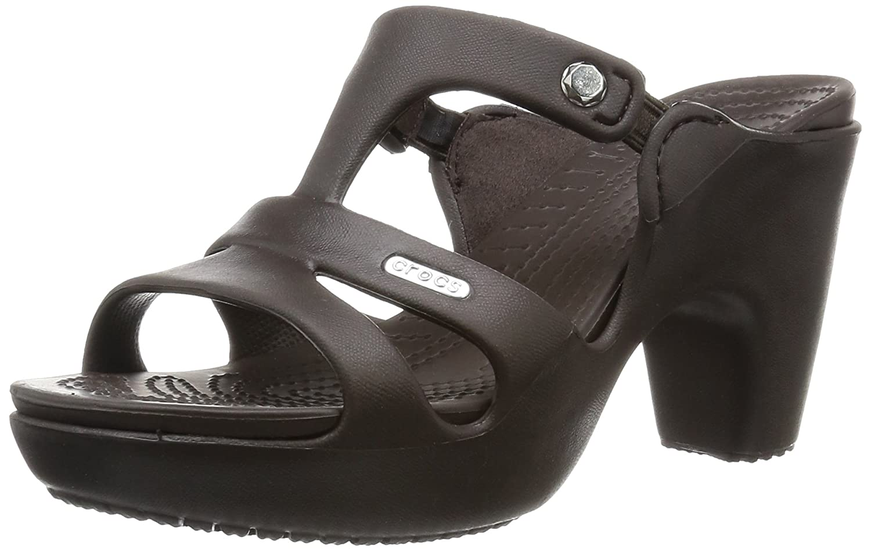 d9b8cceea crocs Women s Cyprus V Heel  Amazon.com.au  Fashion