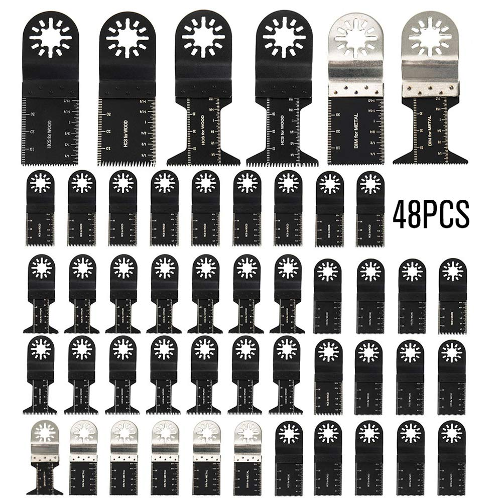 10 x 35 mm Antler gruesas cuchillas de madera Fein Multimaster Bosch Makita Milwaukee Oscillating Multitool AB35CWB